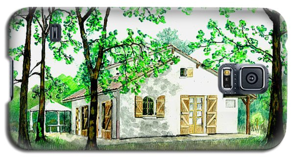 Galaxy S5 Case featuring the painting Maison En Medoc by Marc Philippe Joly