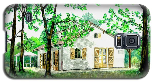 Maison En Medoc Galaxy S5 Case by Marc Philippe Joly