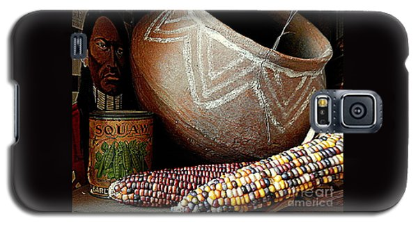 Pottery And Maize Indian Corn Still Life In New Orleans Louisiana Galaxy S5 Case by Michael Hoard