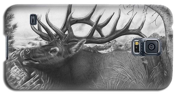 Majestic Bull Elk Galaxy S5 Case