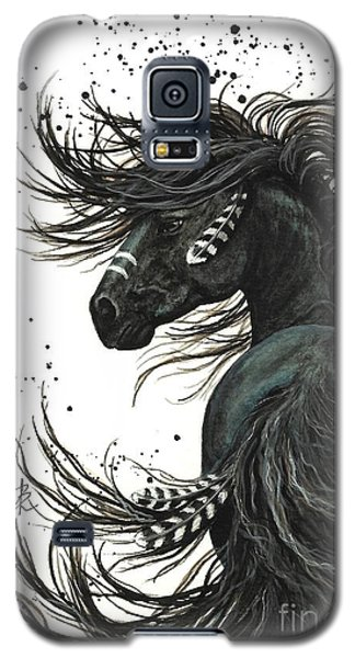 Majestic Spirit Horse 65 Galaxy S5 Case by AmyLyn Bihrle