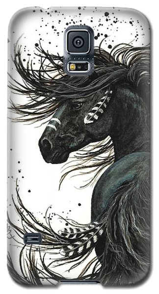 Portraits Galaxy S5 Case - Majestic Spirit Horse  by AmyLyn Bihrle