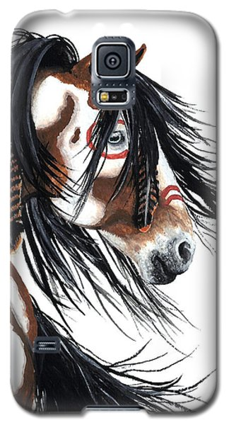 Majestic Pinto Horse Galaxy S5 Case by AmyLyn Bihrle