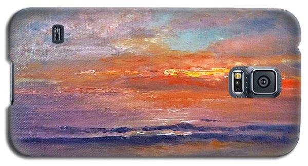 Majestic Sunrise Galaxy S5 Case by Lori Ippolito