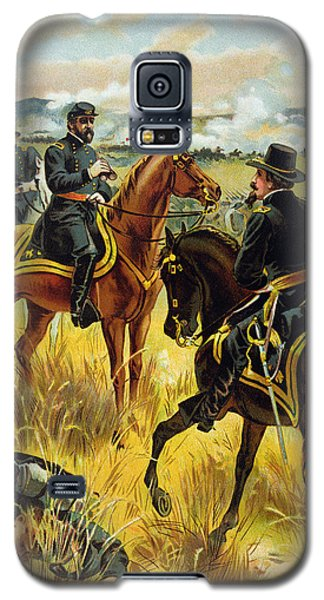 Major General George Meade At The Battle Of Gettysburg Galaxy S5 Case by Henry Alexander Ogden