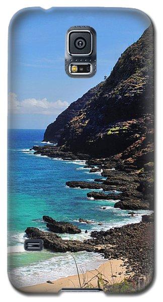 Makapu'u Beach 2 Galaxy S5 Case by Kristine Merc