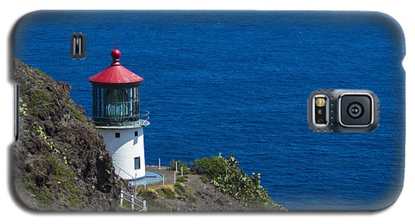 Makapuu Lighthouse 1 Galaxy S5 Case by Leigh Anne Meeks