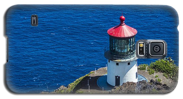 Makapuu Lighthouse 3 Galaxy S5 Case by Leigh Anne Meeks