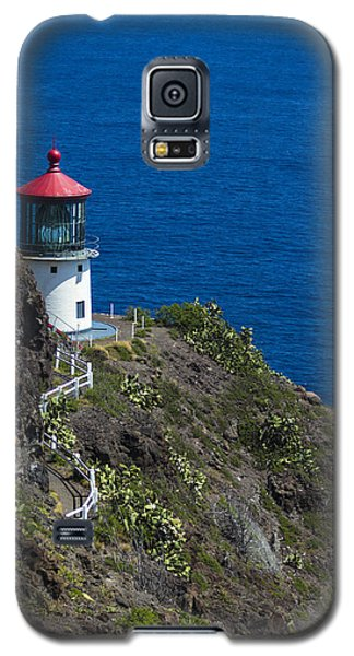 Makapuu Lighthouse2 Galaxy S5 Case by Leigh Anne Meeks