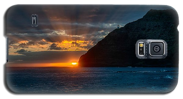 Makapuu Sunrise Galaxy S5 Case