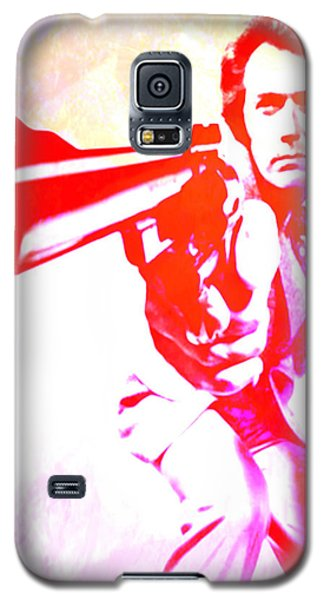 Galaxy S5 Case featuring the painting Make My Day by Brian Reaves
