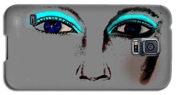 Make Up Digital Painting By Saribelle Rodriguez Galaxy S5 Case by Saribelle Rodriguez