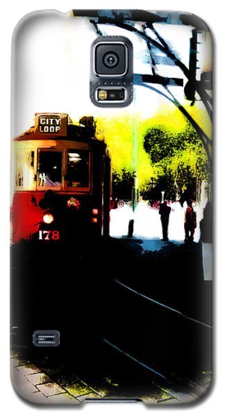 Make Way For The Tram  Galaxy S5 Case by Steve Taylor