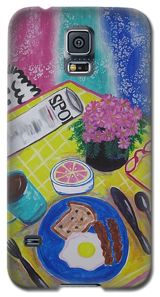 Makin' His Move Galaxy S5 Case by Diane Pape