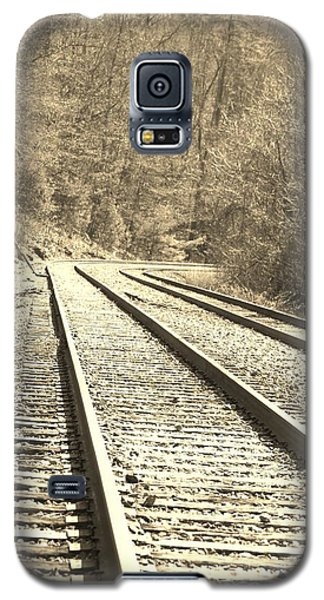 Galaxy S5 Case featuring the pyrography Making The Grade by B Wayne Mullins