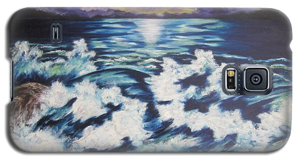 Making Waves Galaxy S5 Case by Cheryl Pettigrew