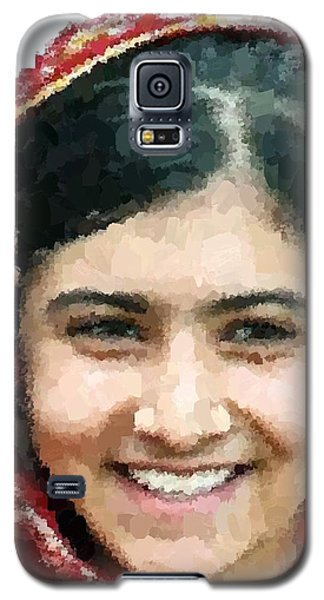 Malala Yousafzai Portrait Galaxy S5 Case