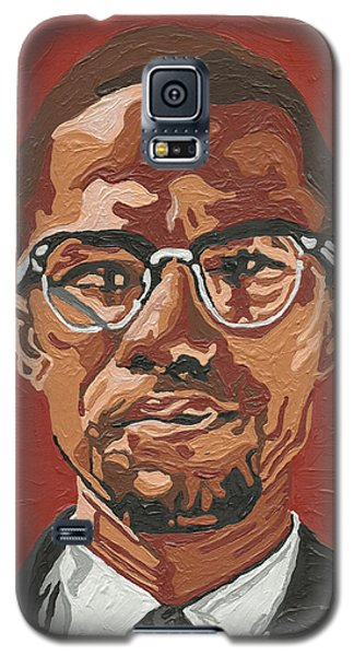 Malcolm X Galaxy S5 Case