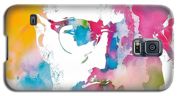 Malcolm X Watercolor Galaxy S5 Case
