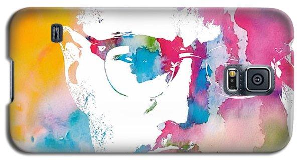 Malcolm X Watercolor Galaxy S5 Case