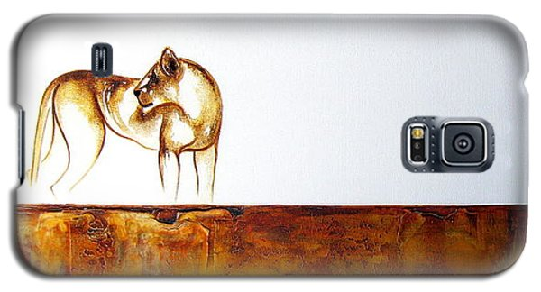 Lioness - Original Artwork Galaxy S5 Case