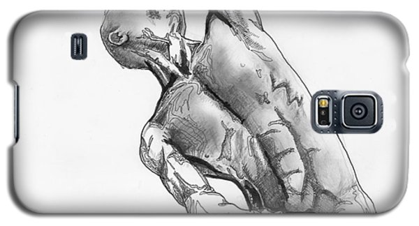 Male Nude 4 Galaxy S5 Case