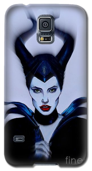Maleficent Focused Galaxy S5 Case