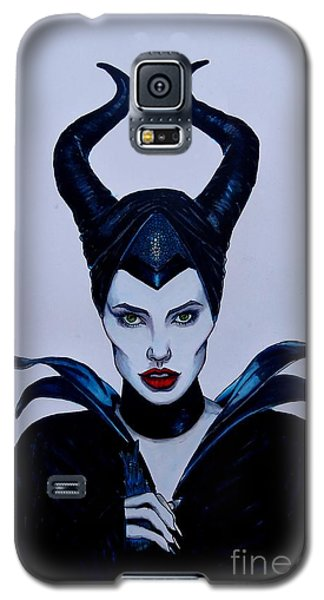 Maleficent Galaxy S5 Case by Justin Moore