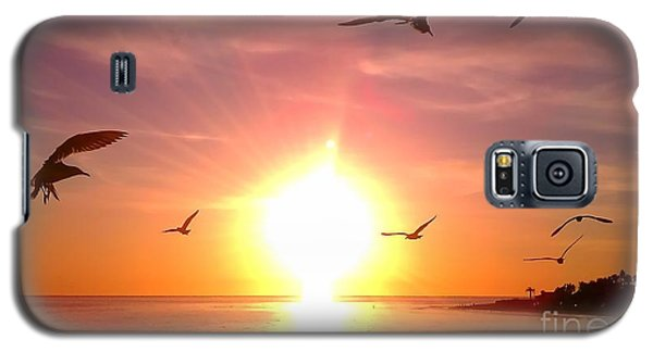 Galaxy S5 Case featuring the photograph Malibu Paradise by Chris Tarpening
