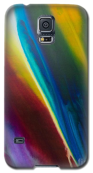 Galaxy S5 Case featuring the painting Malibu by Sherry Davis