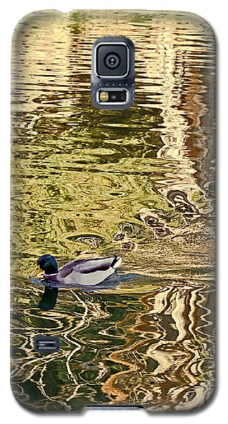 Mallard Painting Galaxy S5 Case