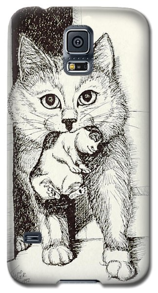 Mama On The Move Galaxy S5 Case