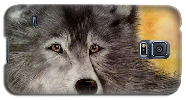 Mama Wolf Galaxy S5 Case by Annamarie Sidella-Felts