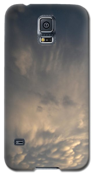Galaxy S5 Case featuring the photograph Mammatus And Other Clouds 2  by Lyle Crump