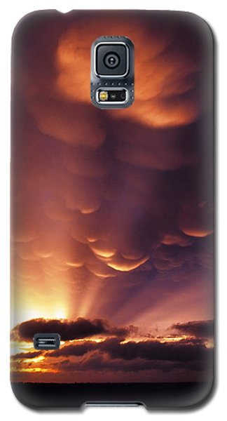 Mammatus Sunset Over Colorado Galaxy S5 Case