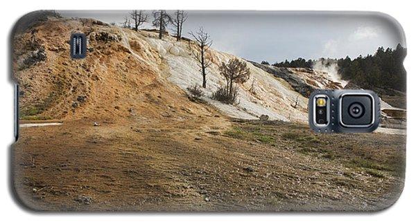 Mammoth Hot Springs Galaxy S5 Case by Belinda Greb