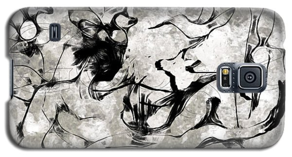 Man And His Dog Galaxy S5 Case by Asok Mukhopadhyay