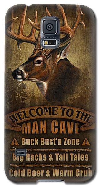 Pheasant Galaxy S5 Case - Man Cave Deer by JQ Licensing