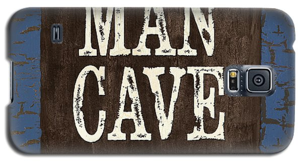 Man Cave Enter At Your Own Risk Galaxy S5 Case
