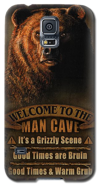 Pheasant Galaxy S5 Case - Man Cave Grizzly by JQ Licensing