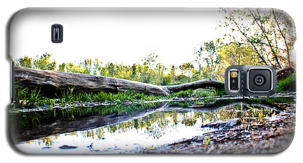 Galaxy S5 Case featuring the photograph Man Down by Joel Loftus