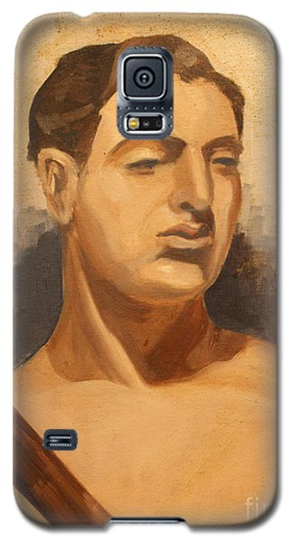 Man Holding Staff  1937 Galaxy S5 Case