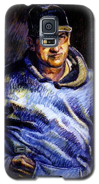 Man In Barn Galaxy S5 Case by Stan Esson