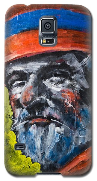 Man In Red Hat Galaxy S5 Case