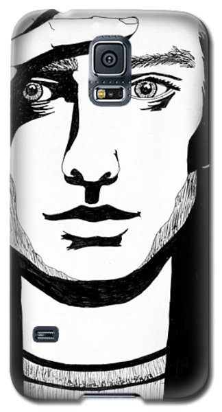 Man In Thought Galaxy S5 Case