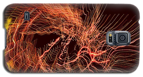 Galaxy S5 Case featuring the digital art Man Move 0052 by David Davies