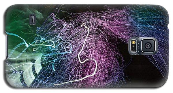 Galaxy S5 Case featuring the digital art Man Move 0060 by David Davies