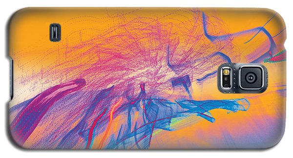 Galaxy S5 Case featuring the photograph Man Move 0102 by David Davies