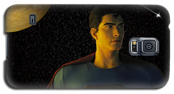 Man Of Steel Galaxy S5 Case
