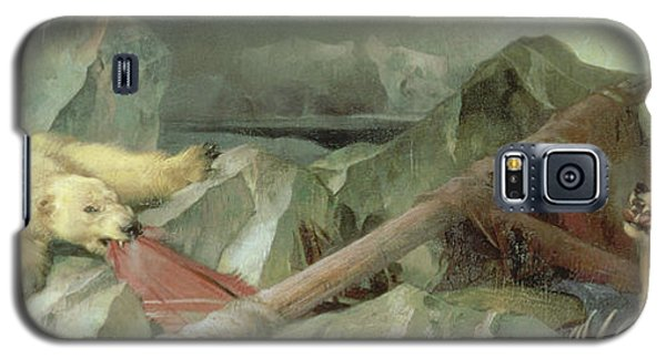 Polar Bear Galaxy S5 Case - Man Proposes, God Disposes, 1864 by Sir Edwin Landseer